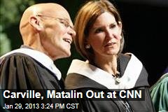 Carville, Matalin Out at CNN