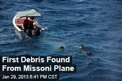 First Debris Found From Missoni Plane