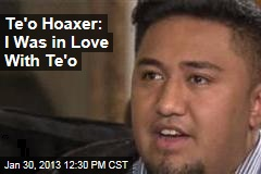Te'o Hoaxer: I Was in Love With Te'o