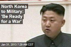 N. Korea Under Martial Law Ahead of Nuke Test