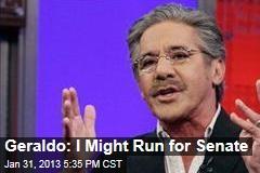Geraldo: I Might Run for Senate
