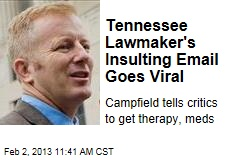 Tennessee Lawmaker's Insulting Email Goes Viral