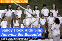 Sandy Hook Kids Sing America the Beautiful