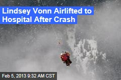Lindsey Vonn Airlifted to Hospital After Crash