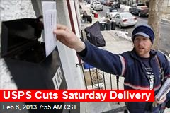 USPS Cuts Saturday Delivery