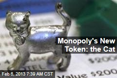Monopoly's New Token: the Cat