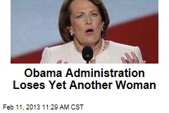 Obama Administration Loses Yet Another Woman