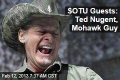 SOTU Guests: Ted Nugent, Mohawk Guy, Gabby Giffords