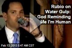 Rubio's Water Gulp Goes Viral