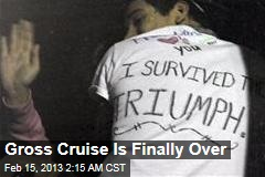 Nightmare Cruise Is Finally Over
