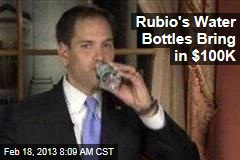 Rubio's Water Bottles Bring in $100K