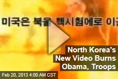 Obama Burns in New North Korea Propaganda Video