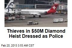$50M Heist Shakes Diamond Industry