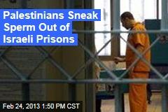 Palestinians Sneak Sperm Out of Israeli Prisons