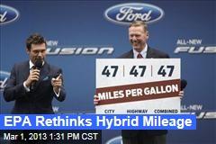 EPA Rethinks Hybrid Mileage