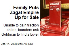 Family Puts Zagat Empire Up for Sale