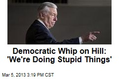 Democratic Whip on Hill: 'We're Doing Stupid Things'