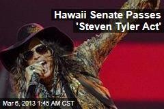 Hawaii Senate Passes 'Steven Tyler' Anti-Paparazzi Act