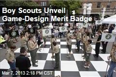 Boy Scouts Unveil Game-Design Merit Badge