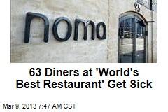 63 Diners at 'World's Best Restaurant' Get Sick