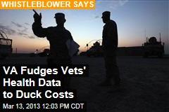 VA Fudges Vets' Health Data to Duck Costs