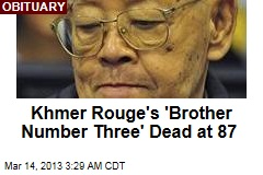 Khmer Rouge's Ieng Sary Dead at 87