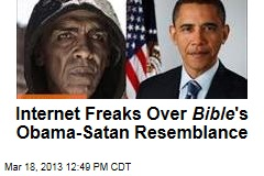Internet Freaks Over Bible 's Obama-Satan Resemblance