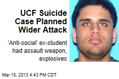 UCF Suicide Case Planned Wider Attack