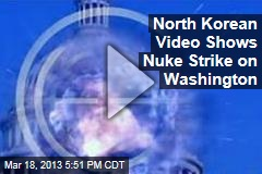 North Korean Video Shows Nuke Strike on Washington