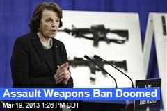Assault Weapons Ban Doomed