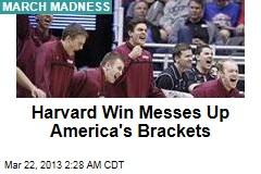 Harvard Upsets New Mexico, 68-62