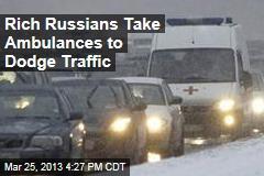Big Wheels Hire 'Ambulance Taxis' To Dodge Traffic