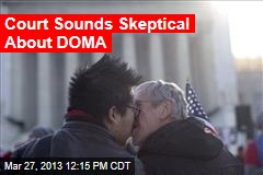 Court Sounds Skeptical About DOMA