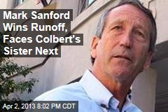 Mark Sanford Wins Runoff, Faces Colbert's Sister Next