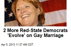 2 More Red-State Democrats 'Evolve' on Gay Marriage