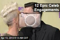12 Epic Celeb Engagements