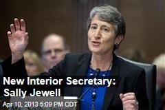 New Interior Secretary: Sally Jewell