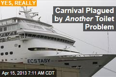 Carnival Plagued by Another Toilet Problem