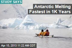 Antarctic Melting Fastest in 1K Years