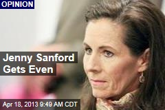 Jenny Sanford Gets Even