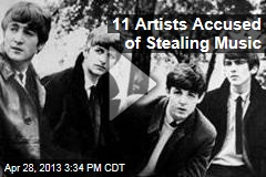 11 Artists Accused of Stealing Music