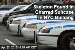 Skeleton Found in Charred Suitcase in NYC Building