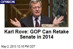 Karl Rove: GOP Can Retake Senate in 2014