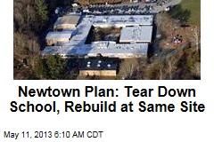 Newtown Plan: Tear Down School, Rebuild at Same Site
