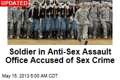 Army Sexual Assault Prevention Officer Accused of Abuse