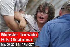 Huge Tornado Destroys Oklahoma Suburb