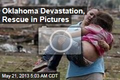 Oklahoma Devastation, Rescue in Pictures