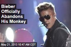 Bieber Officially Abandons His Monkey