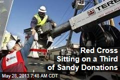Red Cross Sitting on a Third of Sandy Donations