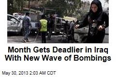 13 Dead in Latest Iraq Bombings